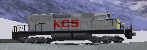 That's not the way an SD40-2 is supposed to look